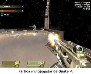 Partida multijugador de Quake 4