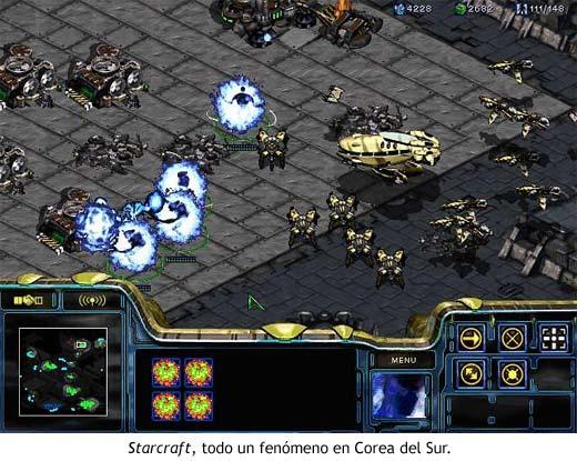 Starcraft, todo un fenómeno en Corea del Sur.