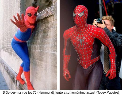 El Spider-man de Hammond y la versión actual de Tobey Maguire