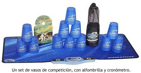 Set profesional de stacking
