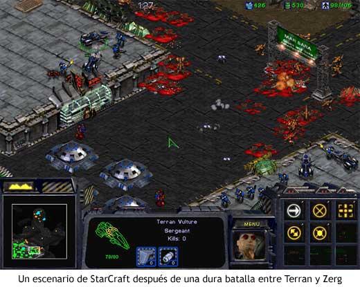 StarCraft - Panorama después de la batalla