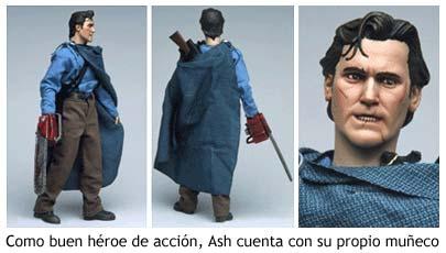 Figura coleccionable de Ash, de El Ejército de las Tinieblas