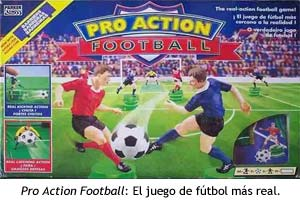 Pro Action Football - Caja