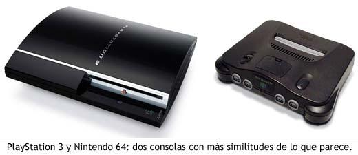PlayStation 3 y Nintendo 64