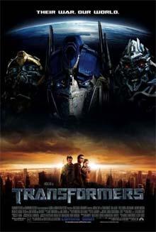Transformers - Cartel de la película