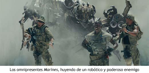 Transformers - Ataque a la base de los EEUU
