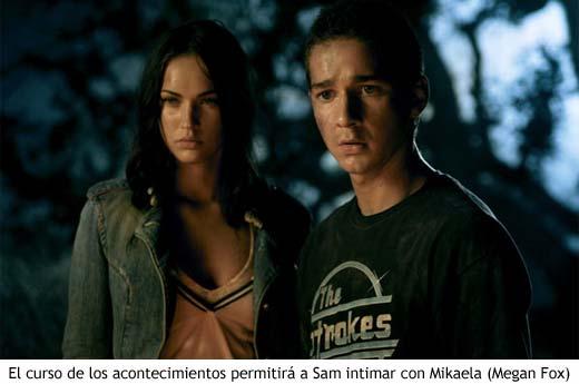 Transformers - Sam y Mikaela