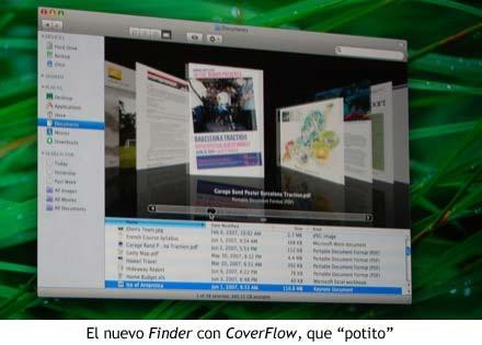 WWDC 07 - Finder con CoverFlow
