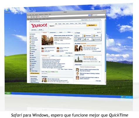 WWDC 07 - Safari para Windows