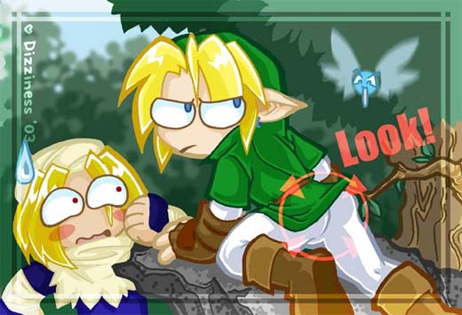The Legend of Zelda - Navi indiscreta