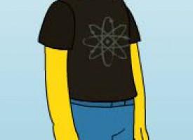 Si fuera un personaje de los Simpson…
