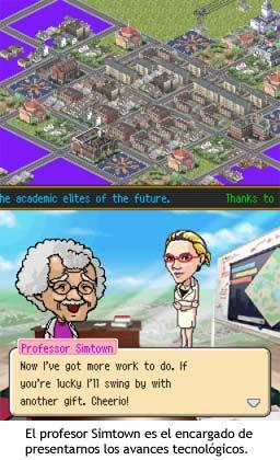SimCity DS - El profesor Simtown