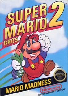 Super Mario Bros 2 - Carátula