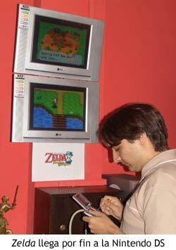Zelda llega a Nintendo DS