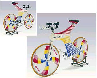 La Espada, la bicicleta de Indurain