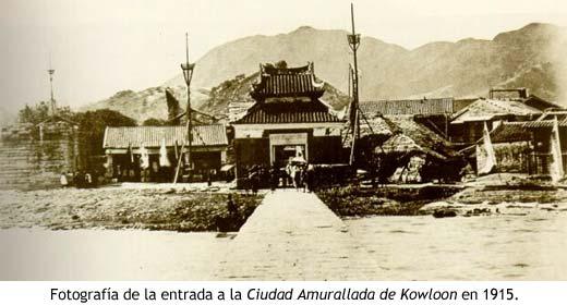 Fotografía de Kowloon en 1915