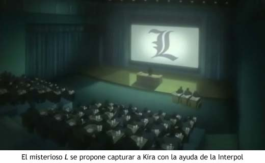 Death Note - L se dirige a la Interpol