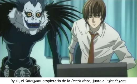 Death Note - Ryuk y Yagami Light