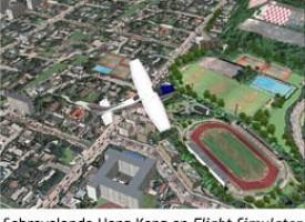 Un simulador de vuelo en Google Earth