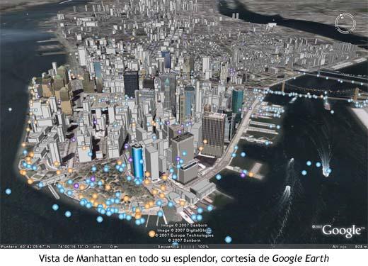 Google Earth - Manhattan