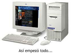 IBM Aptiva, mi puerta de entrada a la web