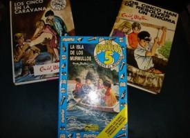Los libros de 'Los Cinco'