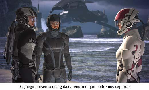 Mass Effect - Una galaxia entera por explorar