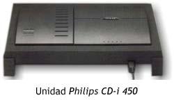 Unidad Philips CD-i 450