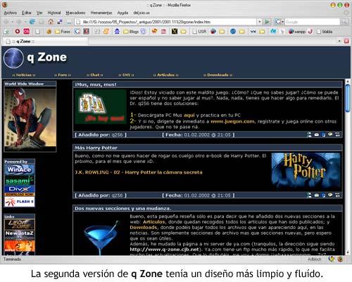 Segunda versión de q Zone