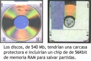 Discos para la unidad de CD-ROM de Super Nintendo
