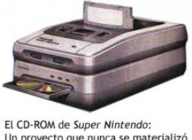 El CD-ROM de Super Nintendo