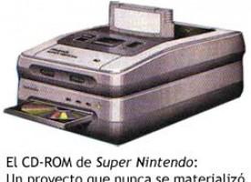 El CD-ROM de Super Nintendo