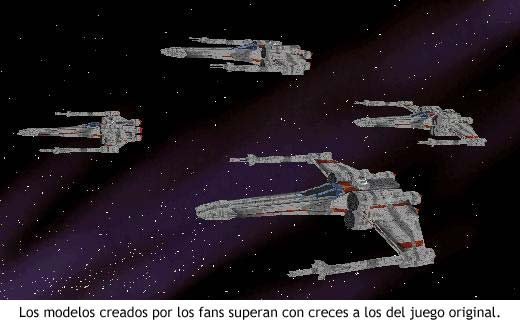 3D Movie Maker - X Wing