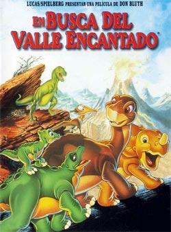 En busca del valle encantado - Cartel de la película