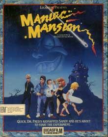 Maniac Mansion - Portada del juego