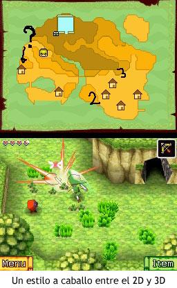 Zelda Phantom Hourglass - Un estilo a caballo entre el 2D y 3D