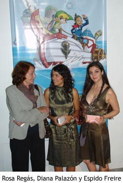 Rosa Regás, Diana Palazón y Espido Freire, invitadas a la presentación de The Legend of Zelda: Phantom Hourglass