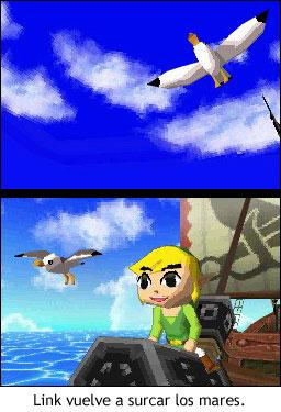 Zelda Phantom Hourglass - Link vuelve a surcar los mares