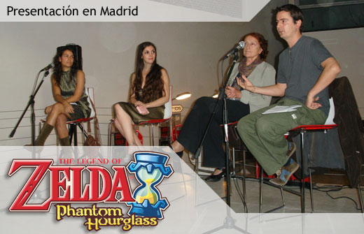 Presentación de Zelda: Phantom Hourglass en Madrid