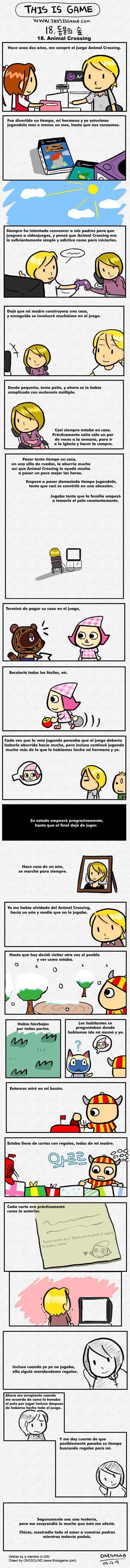 Un cuento de Animal Crossing