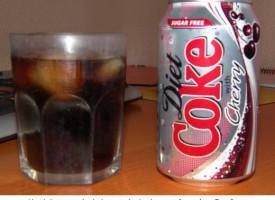 Probando de nuevo la Cherry Coke