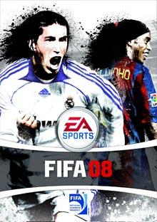 FIFA 08 - Carátula del juego