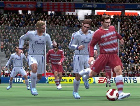 FIFA 08 - Corriendo con el balón