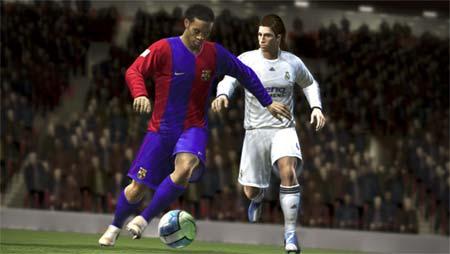 FIFA 08 - Ronaldinho y Sergio Ramos