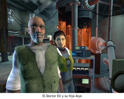 Half-Life 2 - El Doctor Eli y su hija Alyx