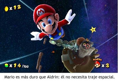 Super Mario Galaxy - Mario no necesita traje espacial