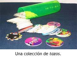 Colección de tazos