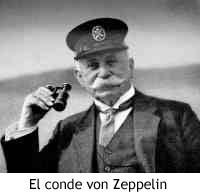 El conde von Zeppelin