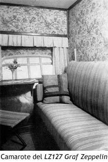 Camarote del LZ127 Graf Zeppelin