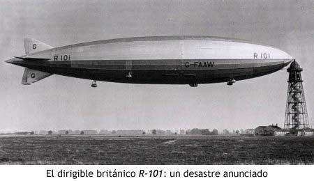 El dirigible británico R-101: un desastre anunciado